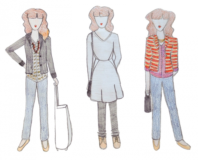 day outfit sketches_Mintz