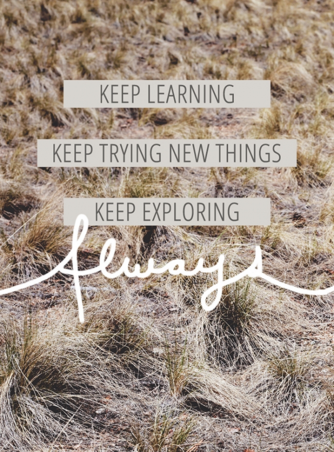 quotable keep exploring