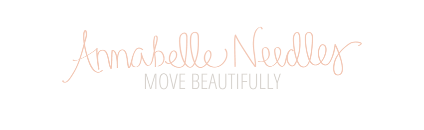 Annabelle Needles // Move Beautifully logo
